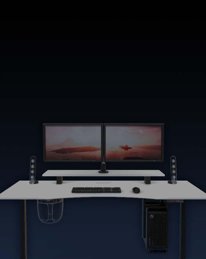 Gaming Desks Designed By Gamers For Gamers Evodesk