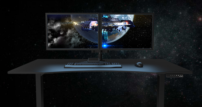 gaming-desk-making-waves