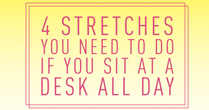 Stretches for sitters