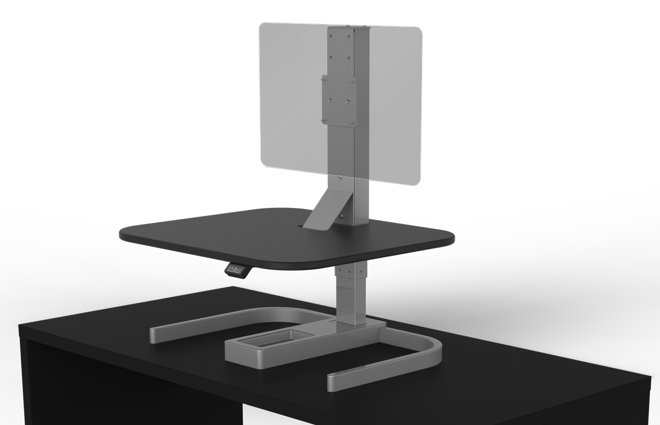 Evodesk Xe Desktop Desk Crossover Converter Evodesk