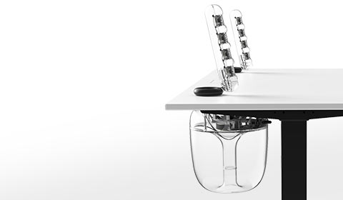 harman kardon integrated standing desk system