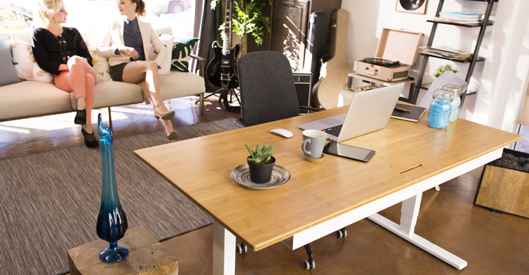 Standing Desks with Power Adjustable Height Evodesk