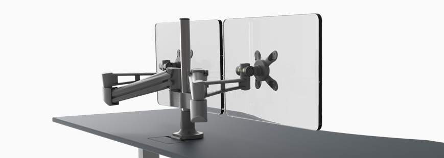 monitor arm options